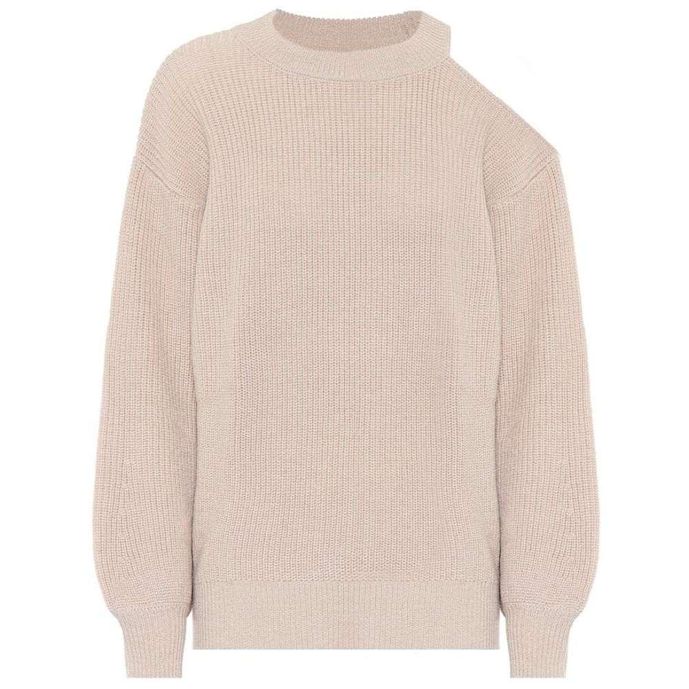 sweater】Nude Velvet トップス【adrienne metallic レディース ニット・セーター ベルベット グラハム&スペンサー