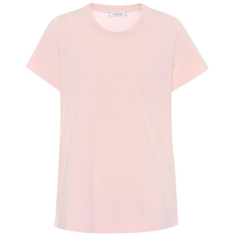 ドロシー シューマッハ Dorothee Schumacher レディース Tシャツ トップス【all time favorites cotton t-shirt】Pale Pink