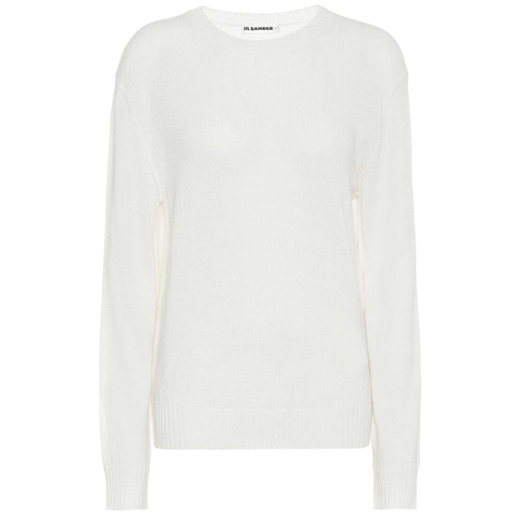 レディース トップス【wool sweater】Natural ジル Jil Sander ニット・セーター サンダー