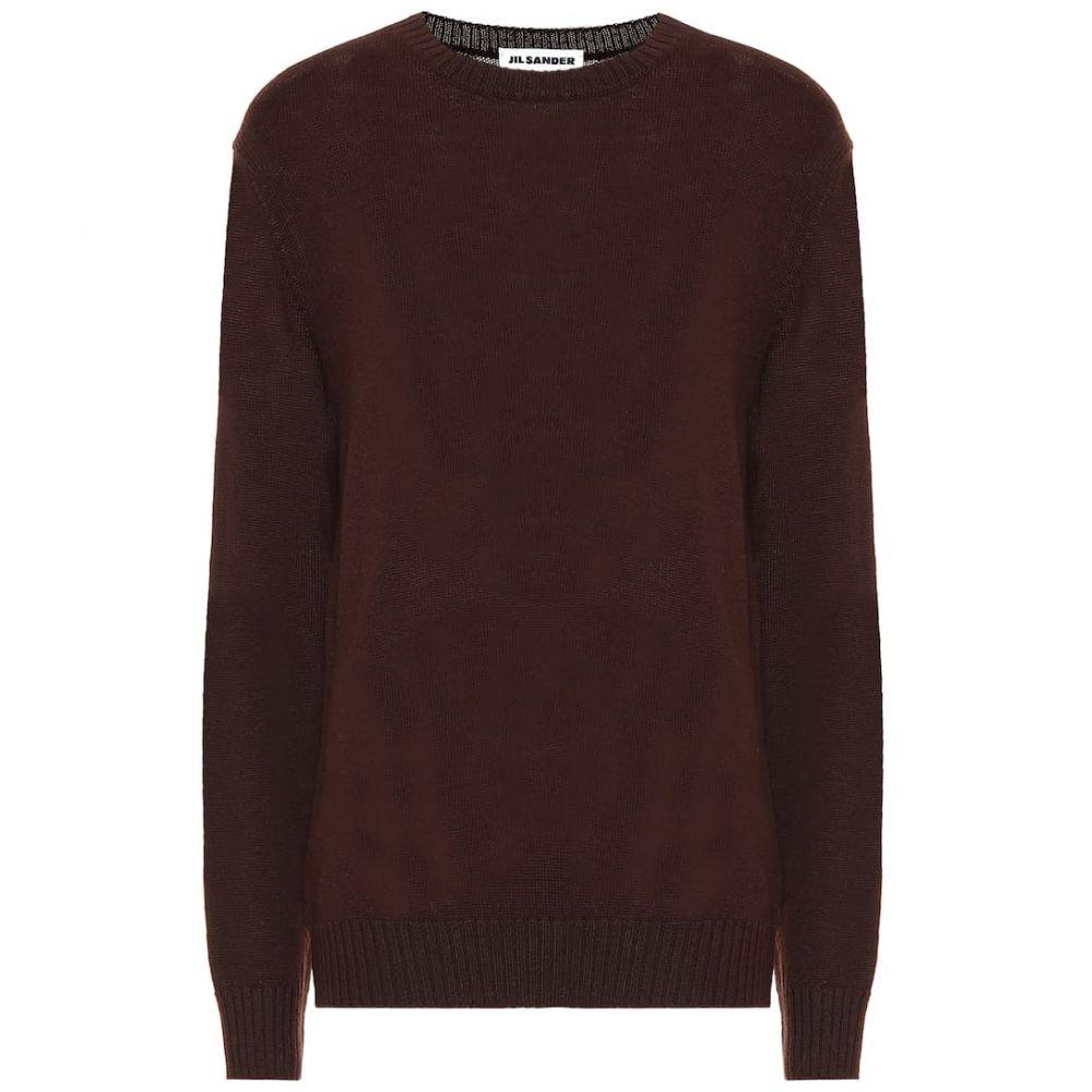 ジル サンダー Jil Sander レディース ニット・セーター トップス【wool sweater】Dark Brown