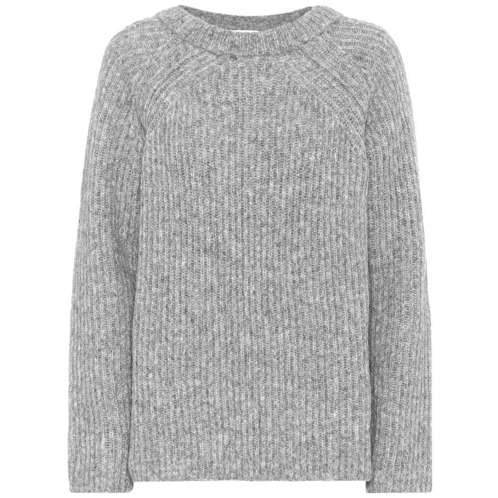 ヘルムート ラング Helmut Lang レディース ニット・セーター トップス【wool and alpaca blend sweater】Grey Melange