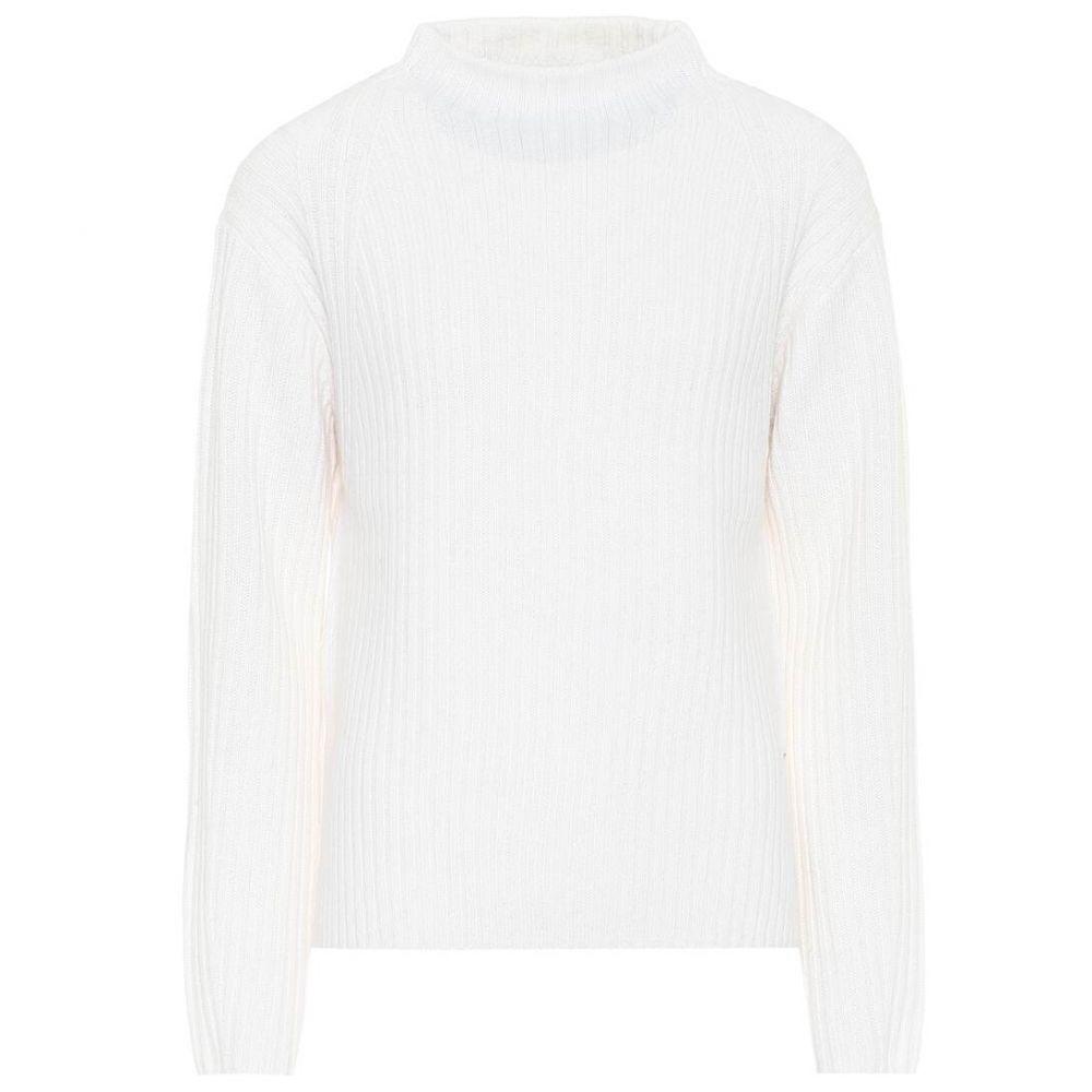 ヴィンス Vince レディース ニット・セーター トップス【high-neck wool-blend sweater】Off White