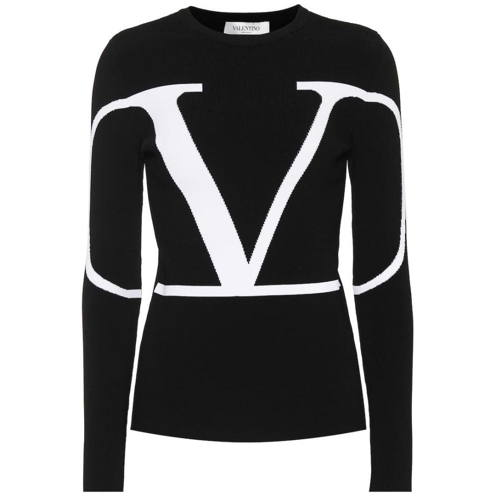 ヴァレンティノ Valentino レディース ニット・セーター トップス【logo sweater】