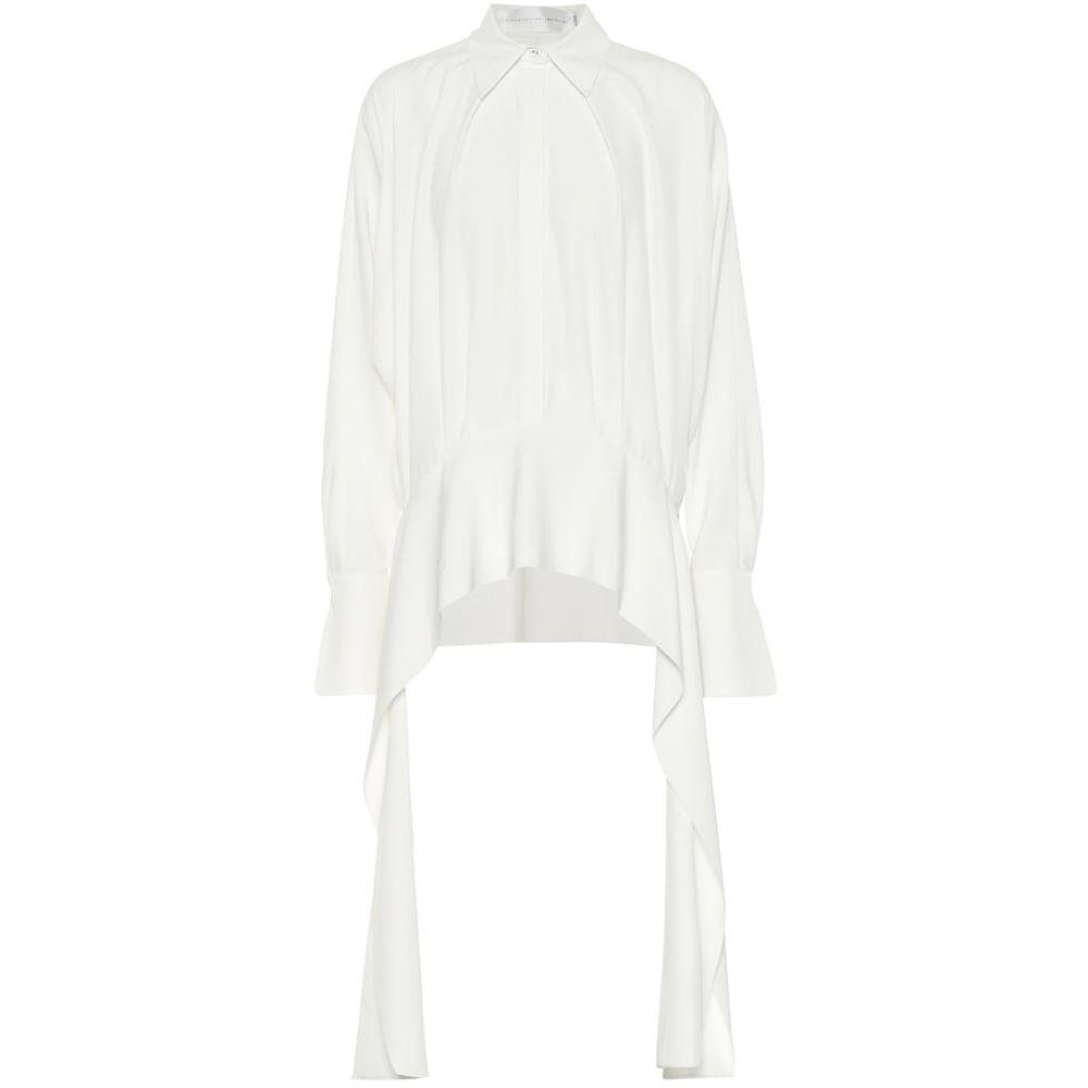 ヴィクトリア ベッカム Victoria Victoria Beckham レディース ブラウス・シャツ トップス【crepe shirt】Ivory