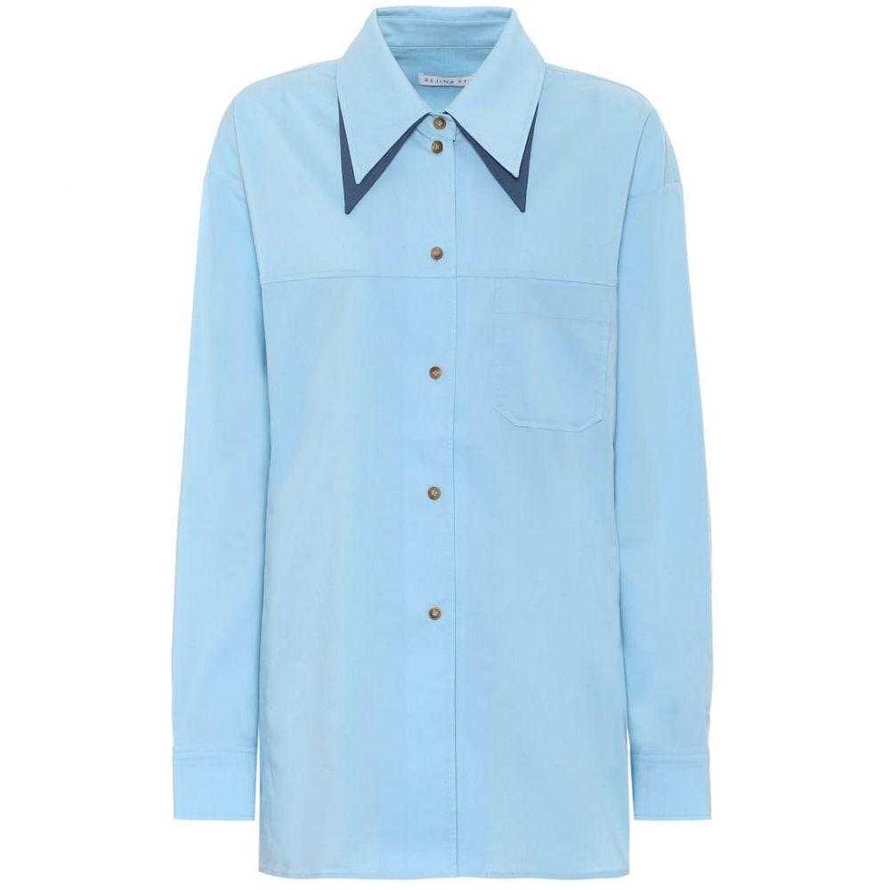 レジーナ ピヨ Rejina Pyo レディース ブラウス・シャツ トップス【rory shirt】Blue