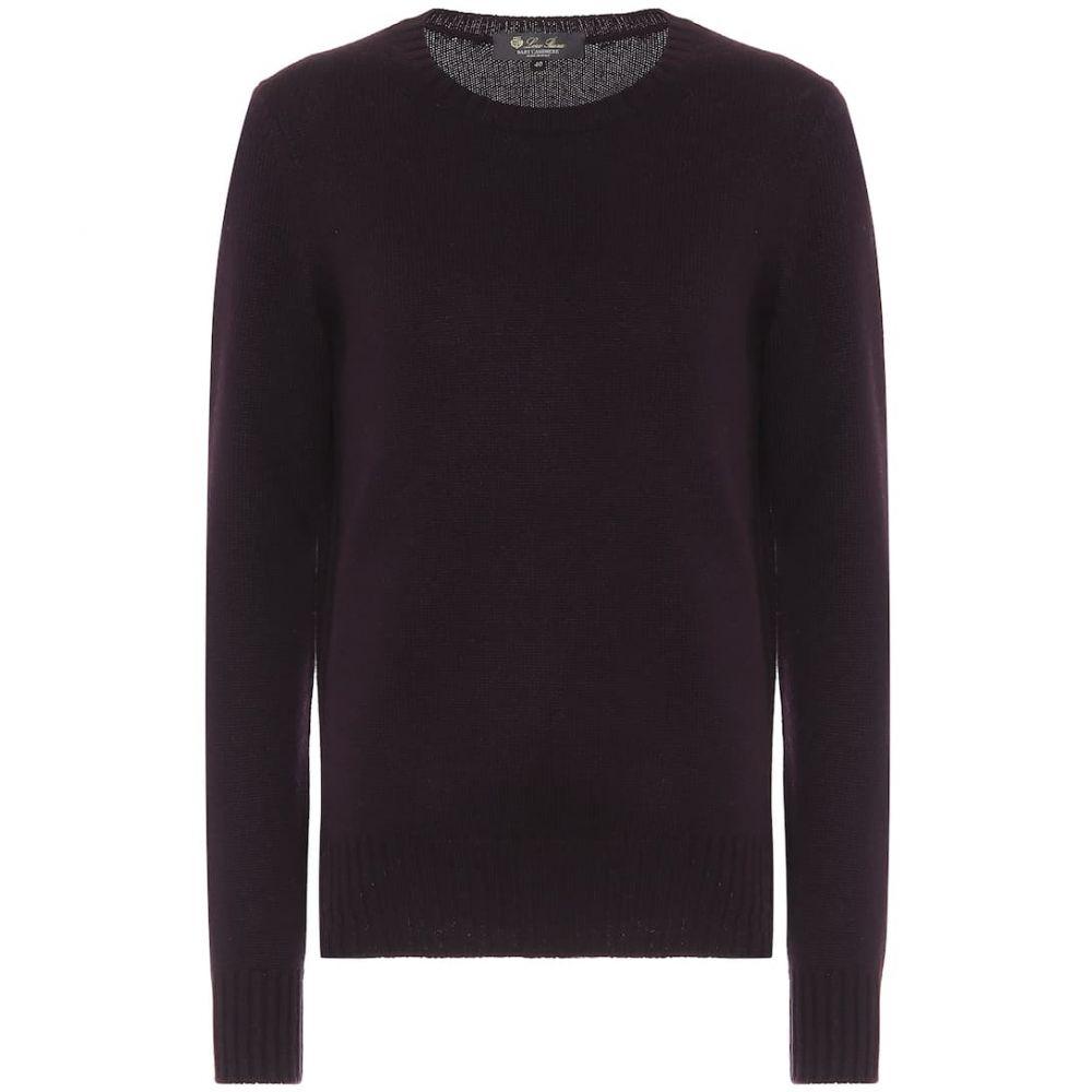 ロロピアーナ Loro Piana レディース ニット・セーター トップス【cashmere sweater】Burgundy