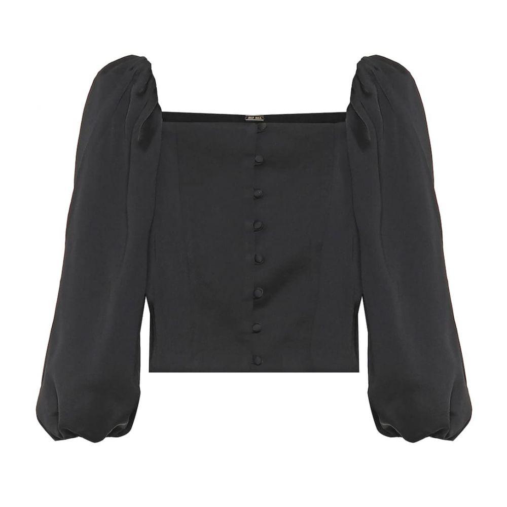 カルト ガイア Cult Gaia レディース ブラウス・シャツ トップス【petra blouse】Black