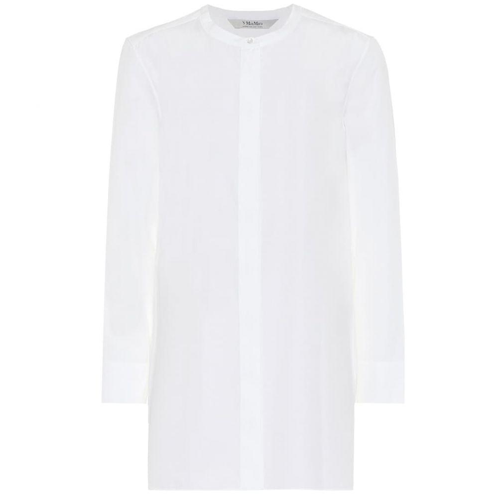 マックスマーラ S Max Mara レディース ブラウス・シャツ トップス【eritrea cotton shirt】