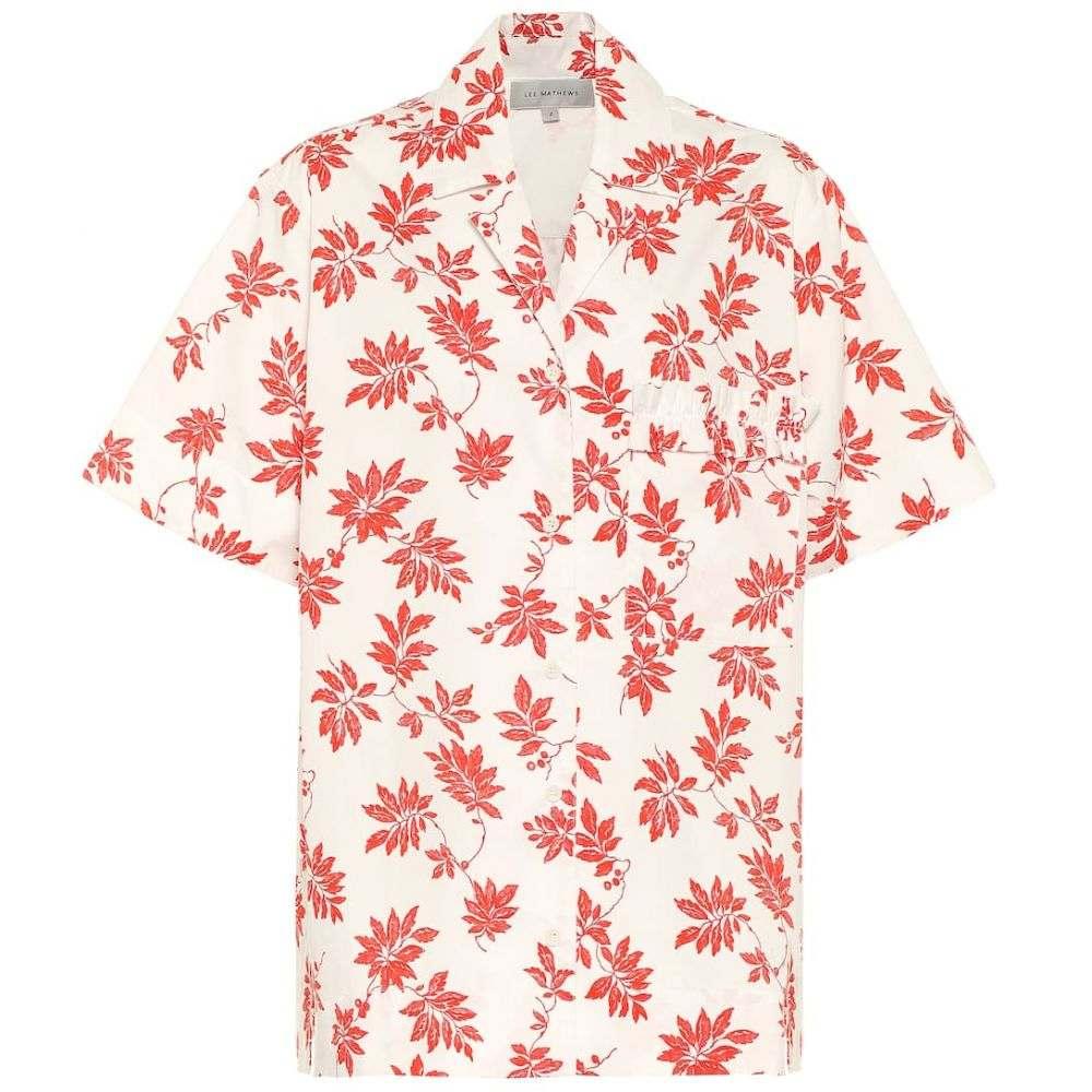 リーマシューズ Lee Mathews レディース ブラウス・シャツ トップス【printed cotton shirt】Floral