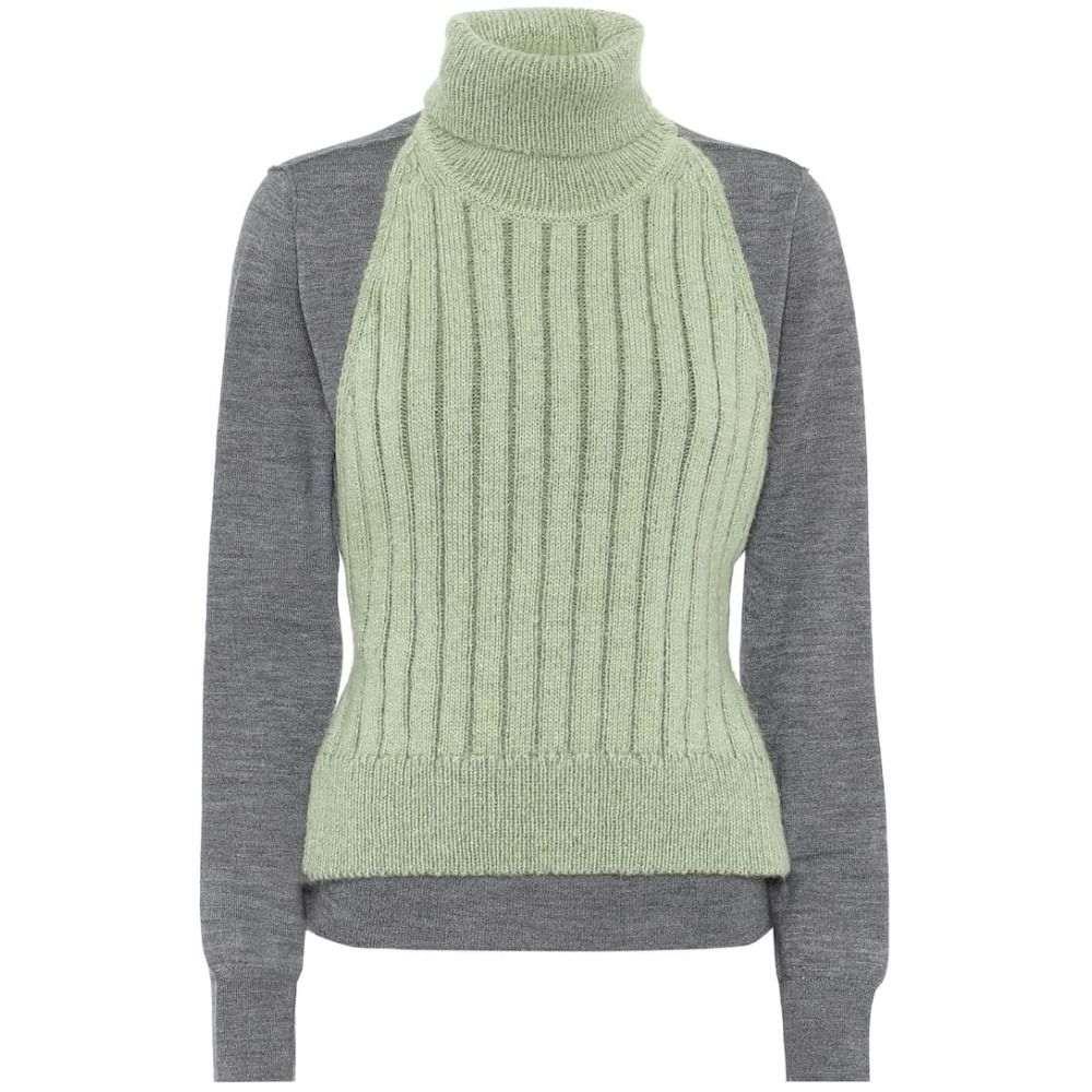 メゾン マルジェラ MM6 Maison Margiela レディース ニット・セーター トップス【turtleneck sweater】Grey Sage