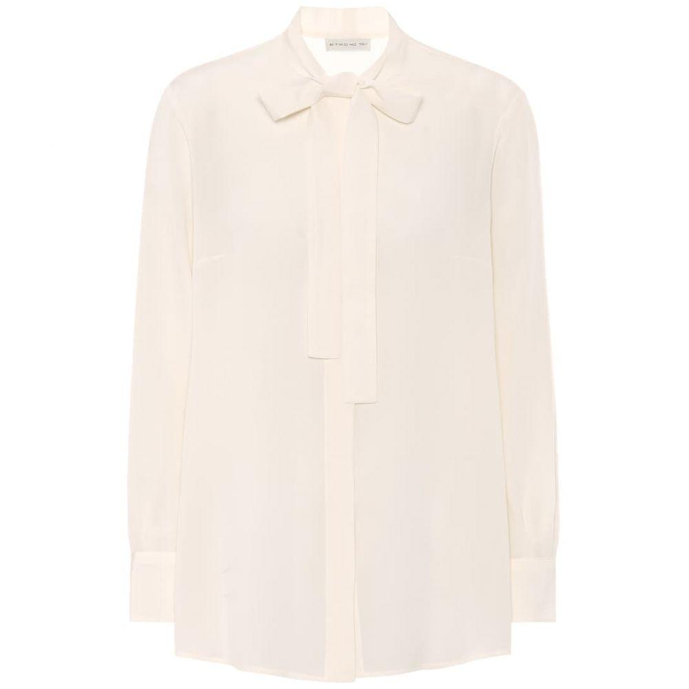 エトロ Etro レディース ブラウス・シャツ トップス【silk-crepe blouse】
