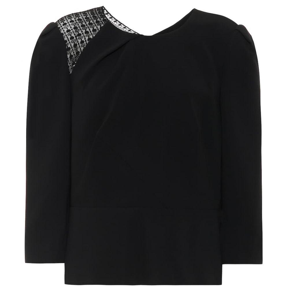 ローラン ムレ Roland Mouret レディース ブラウス・シャツ トップス【ashridge stretch-crepe shirt】Black