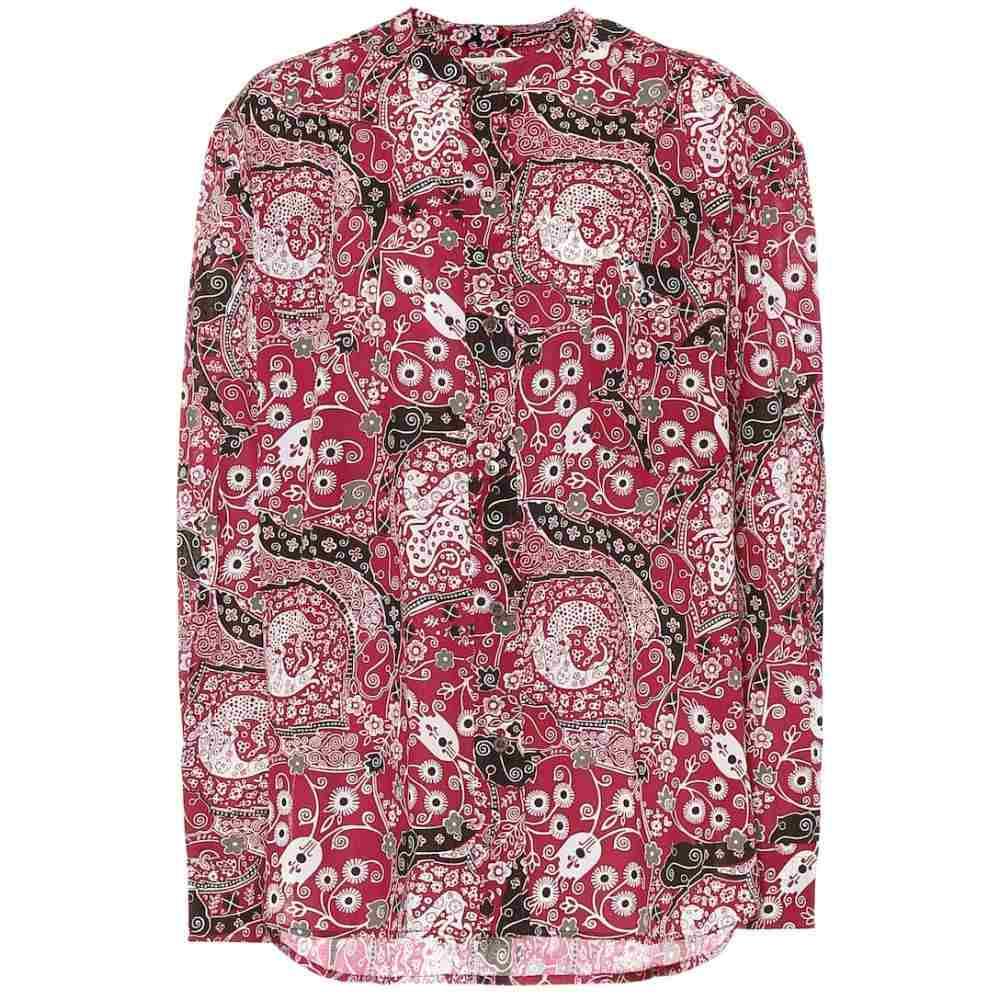 イザベル マラン Isabel Marant, Etoile レディース ブラウス・シャツ トップス【mexika cotton blouse】Fuchsia