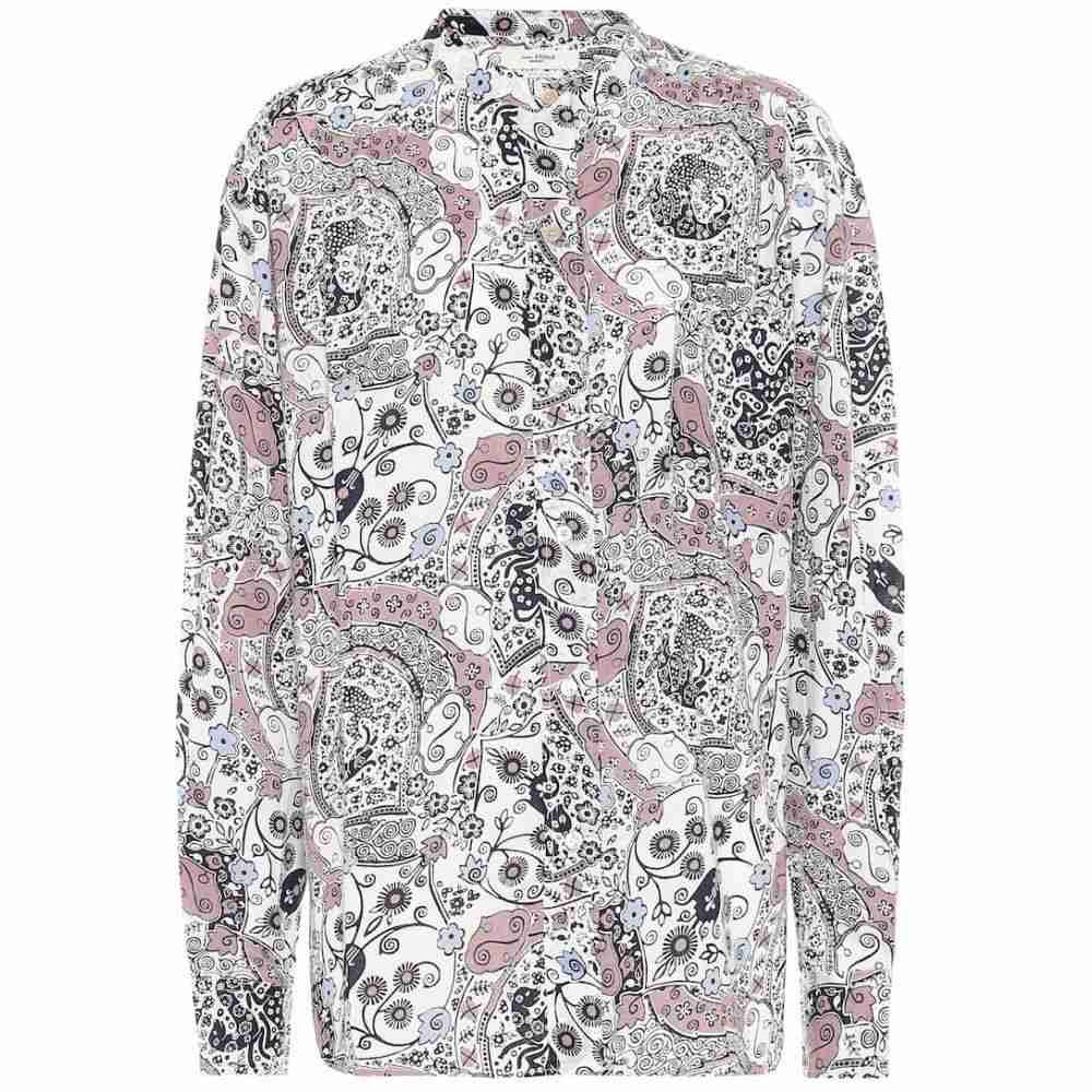 イザベル マラン Isabel Marant, Etoile レディース ブラウス・シャツ トップス【printed cotton blouse】Ecru Pink