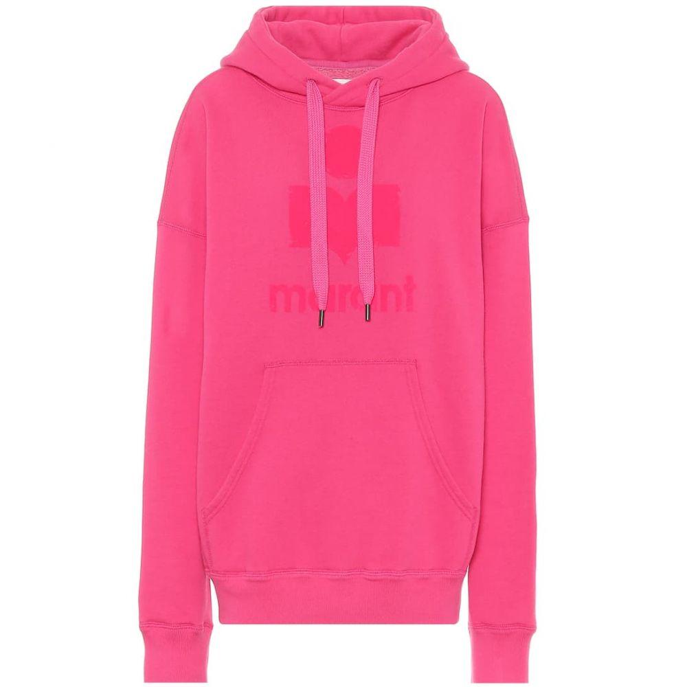 イザベル マラン Isabel Marant, Etoile レディース パーカー トップス【mansel oversized cotton-blend hoodie】Neon Pink