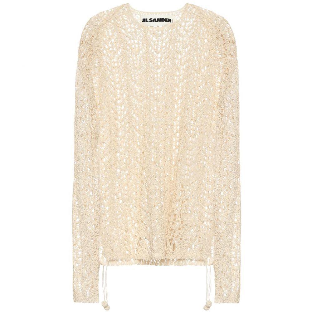 ジル サンダー Jil Sander レディース ニット・セーター トップス【cotton drawstring sweater】Light Beige