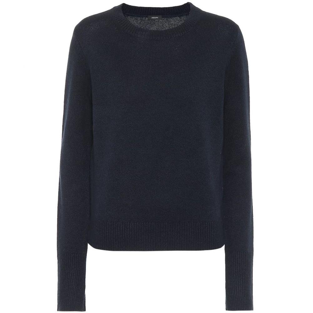 ジョゼフ Joseph レディース ニット・セーター トップス【cashmere sweater】Navy