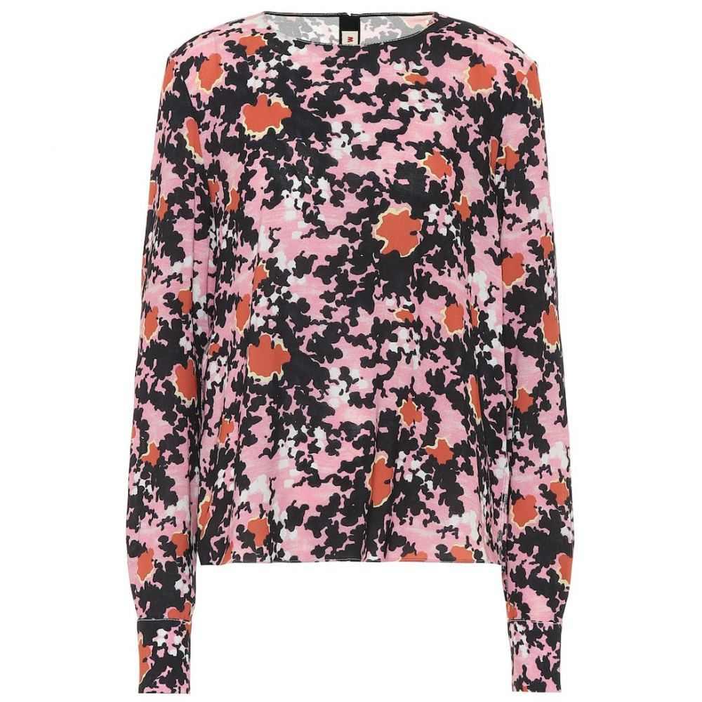マルニ Marni レディース ブラウス・シャツ トップス【floral sable blouse】Pink Candy
