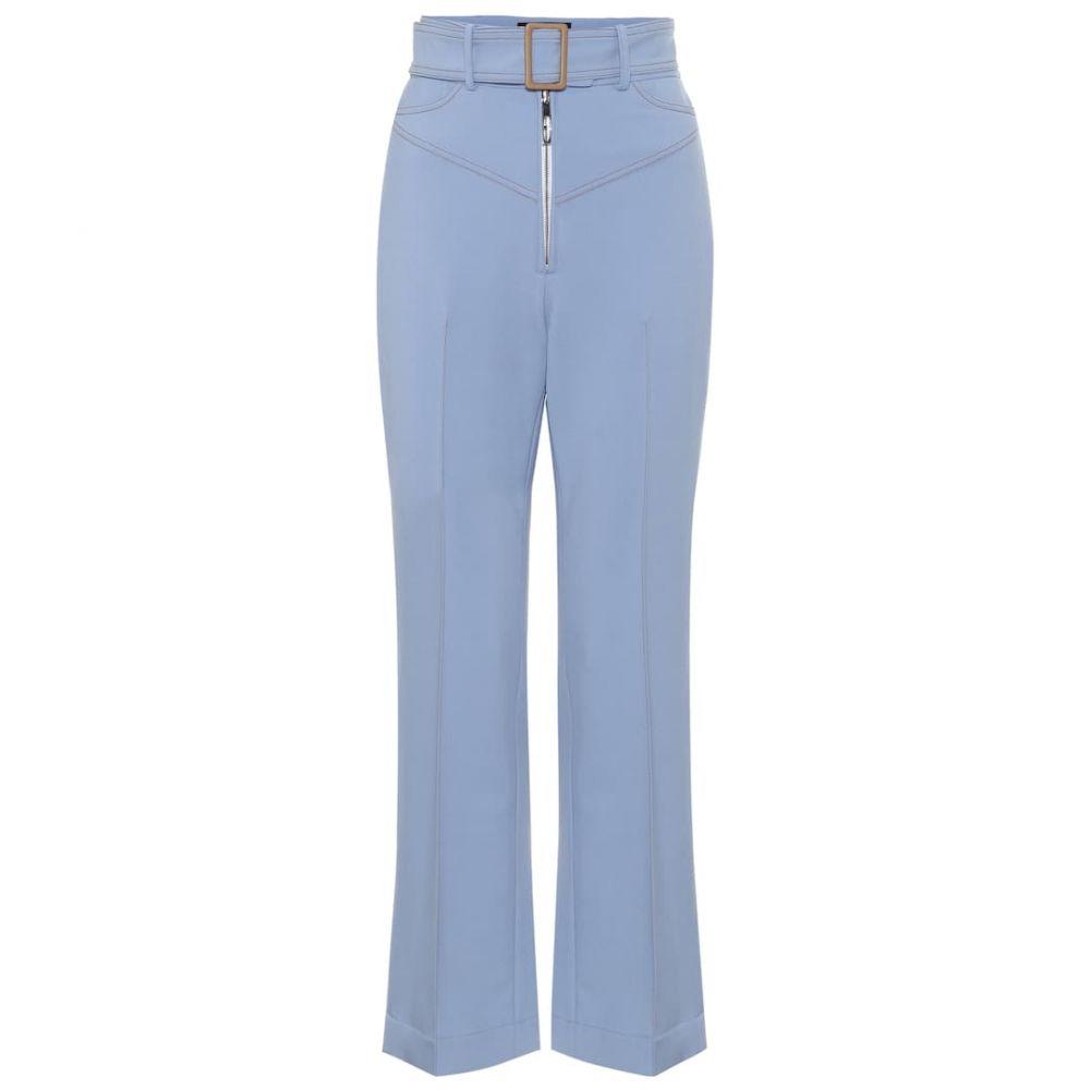 エラリー Ellery レディース ボトムス・パンツ 【supervision wool-blend flared pants】Pale Blue