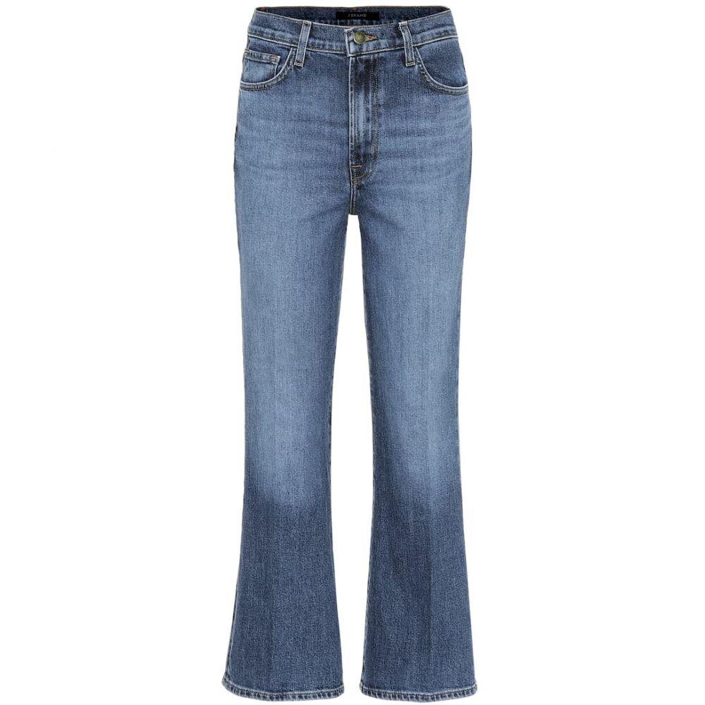 ジェイ ブランド J Brand レディース ジーンズ・デニム ボトムス・パンツ【julia high-rise cropped jeans】Metropole