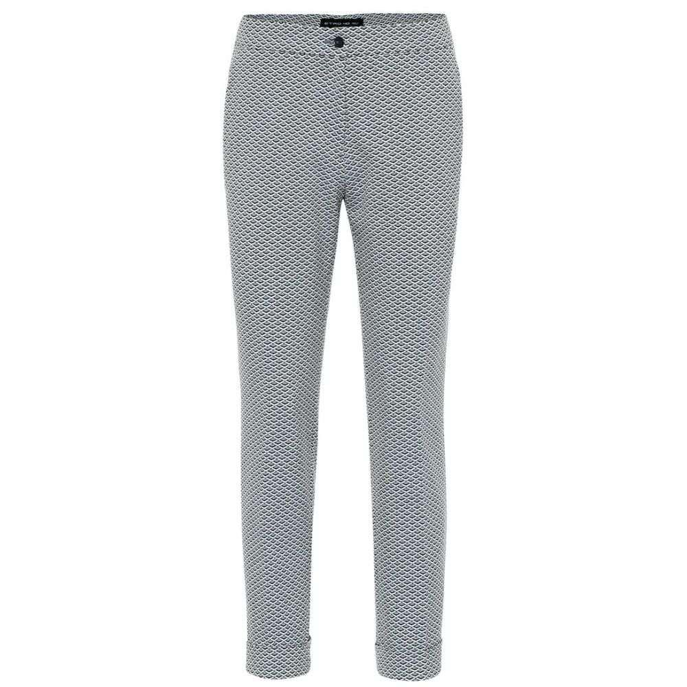 エトロ Etro レディース ボトムス・パンツ 【high-rise cotton-jacquard pants】