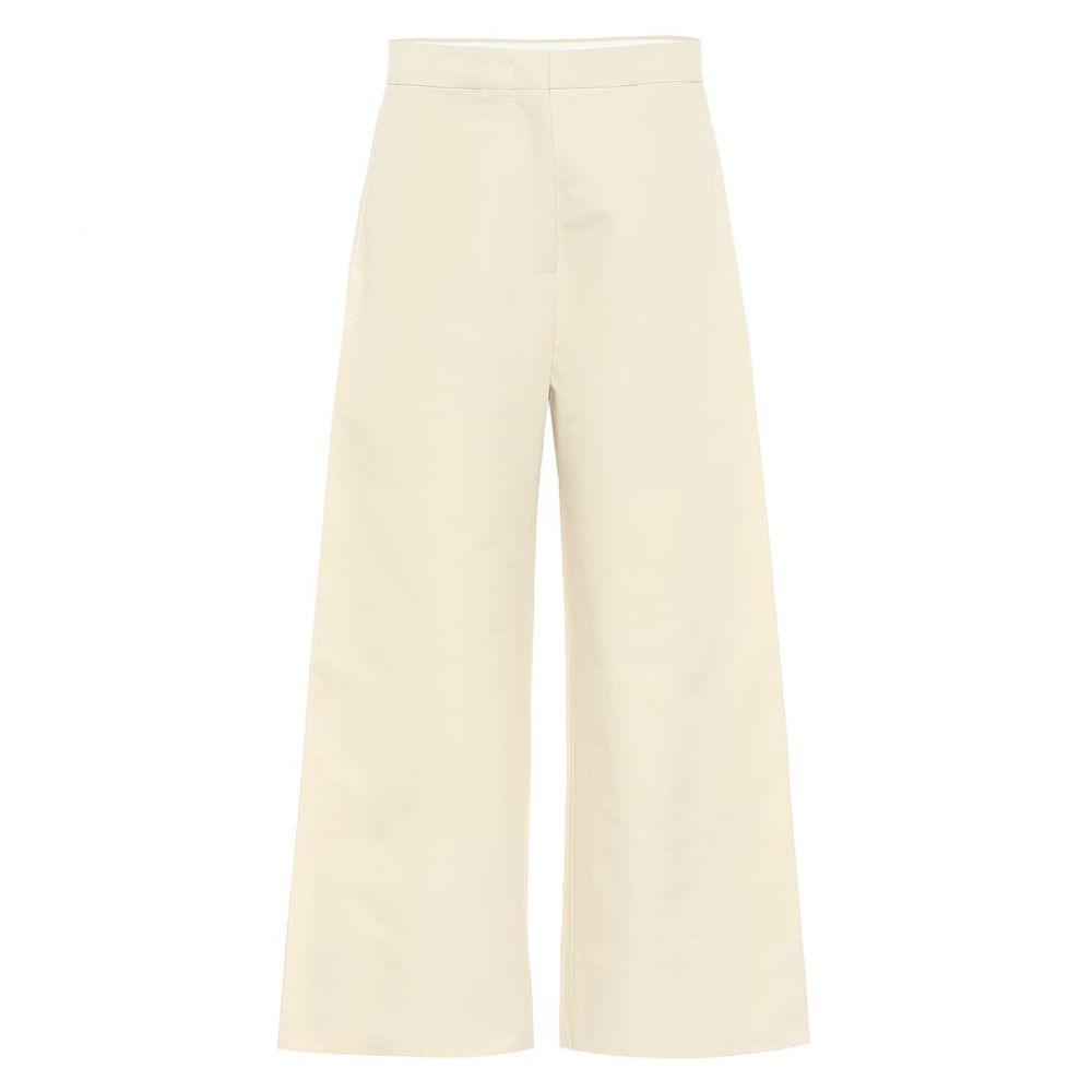 ジル サンダー Jil Sander レディース ボトムス・パンツ 【high-rise wide-leg cotton pants】Light Beige