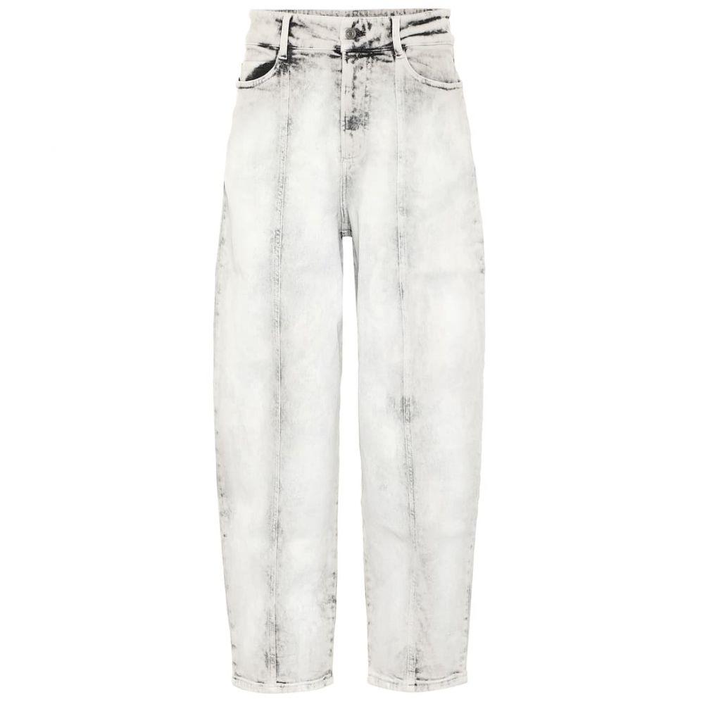 ステラ マッカートニー Stella McCartney レディース ジーンズ・デニム ボトムス・パンツ【wide-leg stretch-denim jeans】Smoky White