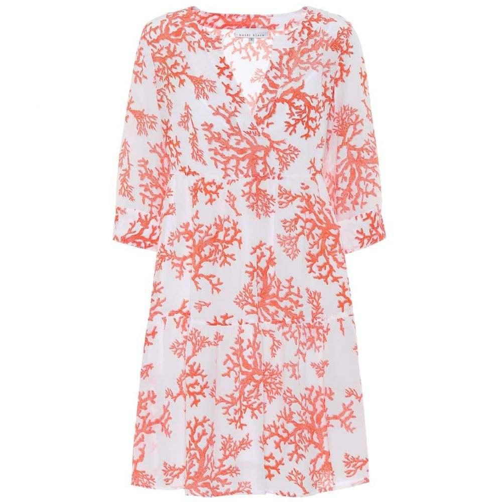 ハイジ クライン Heidi Klein レディース ワンピース ワンピース・ドレス【belize printed silk tunic minidress】Prt