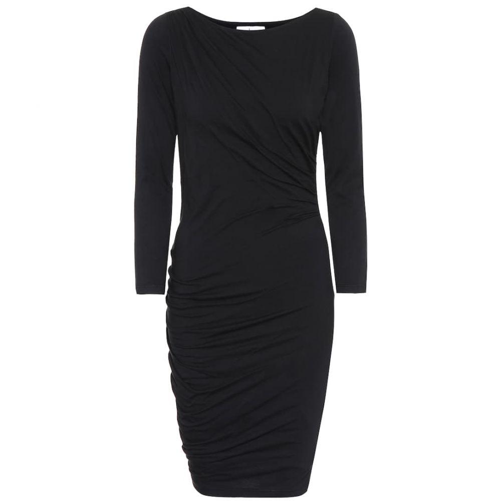 ベルベット グラハム&スペンサー Velvet レディース ワンピース ワンピース・ドレス【greta stretch-jersey dress】Black