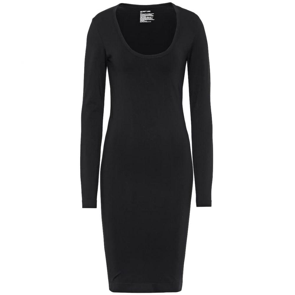 ヘルムート ラング Helmut Lang レディース ワンピース ワンピース・ドレス【stretch-nylon dress】Black
