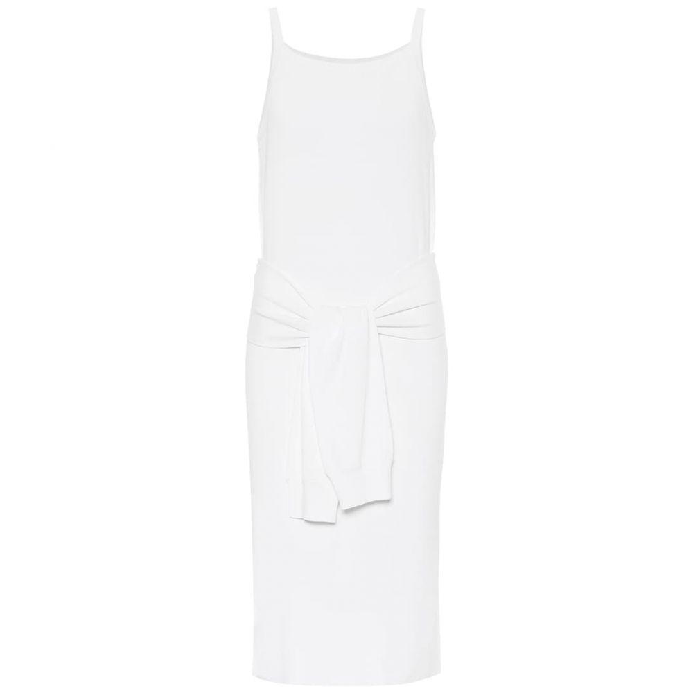 ヘルムート ラング Helmut Lang レディース ワンピース ミドル丈 ワンピース・ドレス【knit midi dress】White