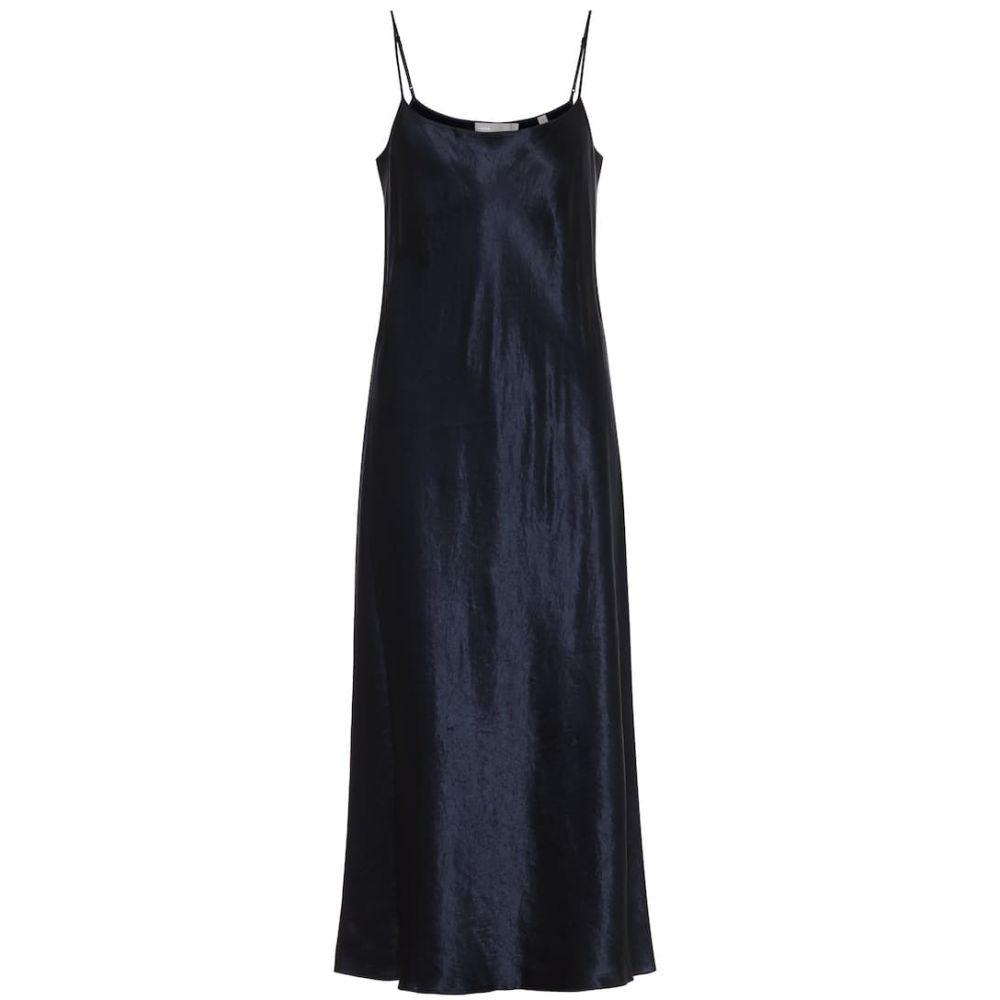 ヴィンス Vince レディース ワンピース スリップドレス ワンピース・ドレス【satin slip dress】Coastal