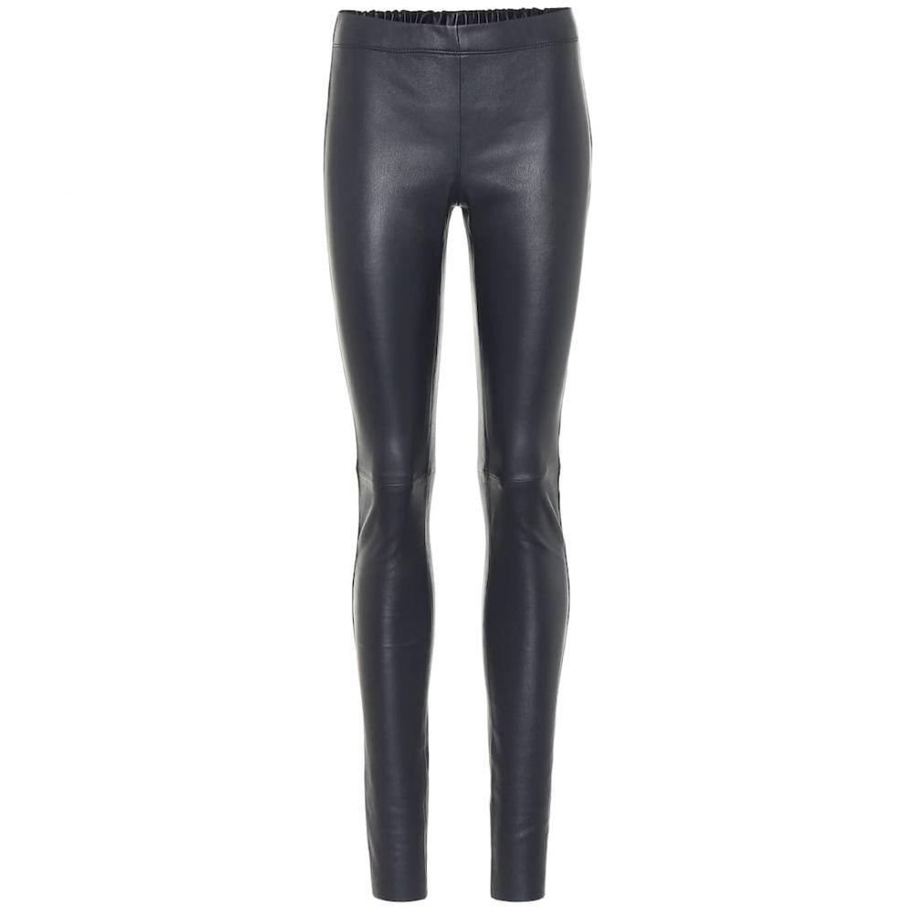 ジョゼフ Joseph レディース ボトムス・パンツ レザーレギンス【leather leggings】Navy