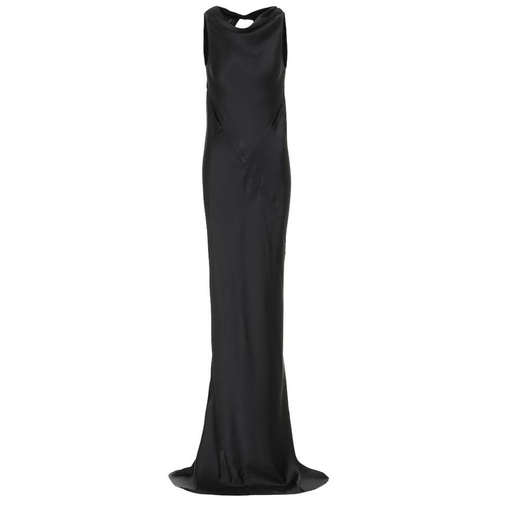 リック オウエンス Rick Owens レディース パーティードレス ワンピース・ドレス【hammered-satin gown】