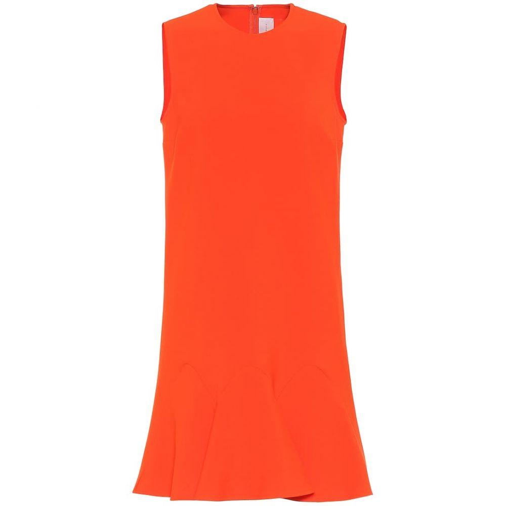 ヴィクトリア ベッカム Victoria Victoria Beckham レディース ワンピース ミドル丈 ワンピース・ドレス stretch jersey midi dress Flame RedAL5j4R