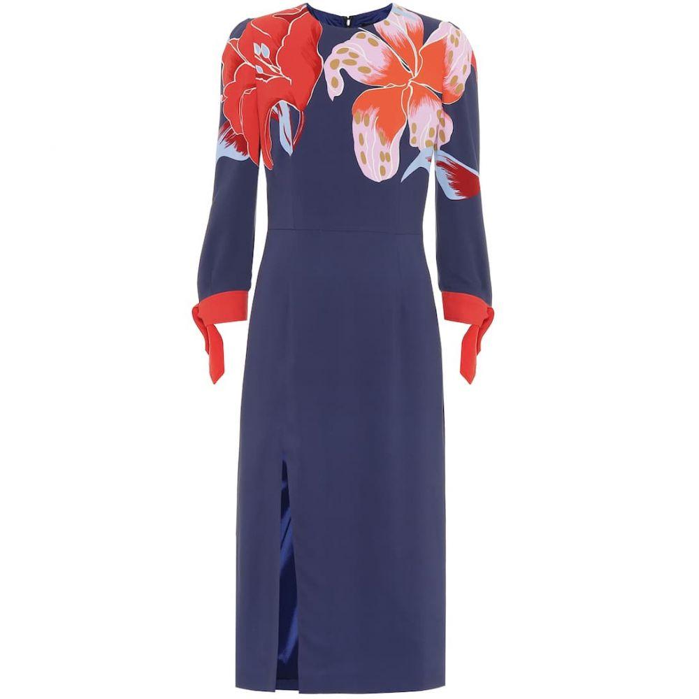 エトロ Etro レディース ワンピース ワンピース・ドレス【floral stretch-crepe dress】