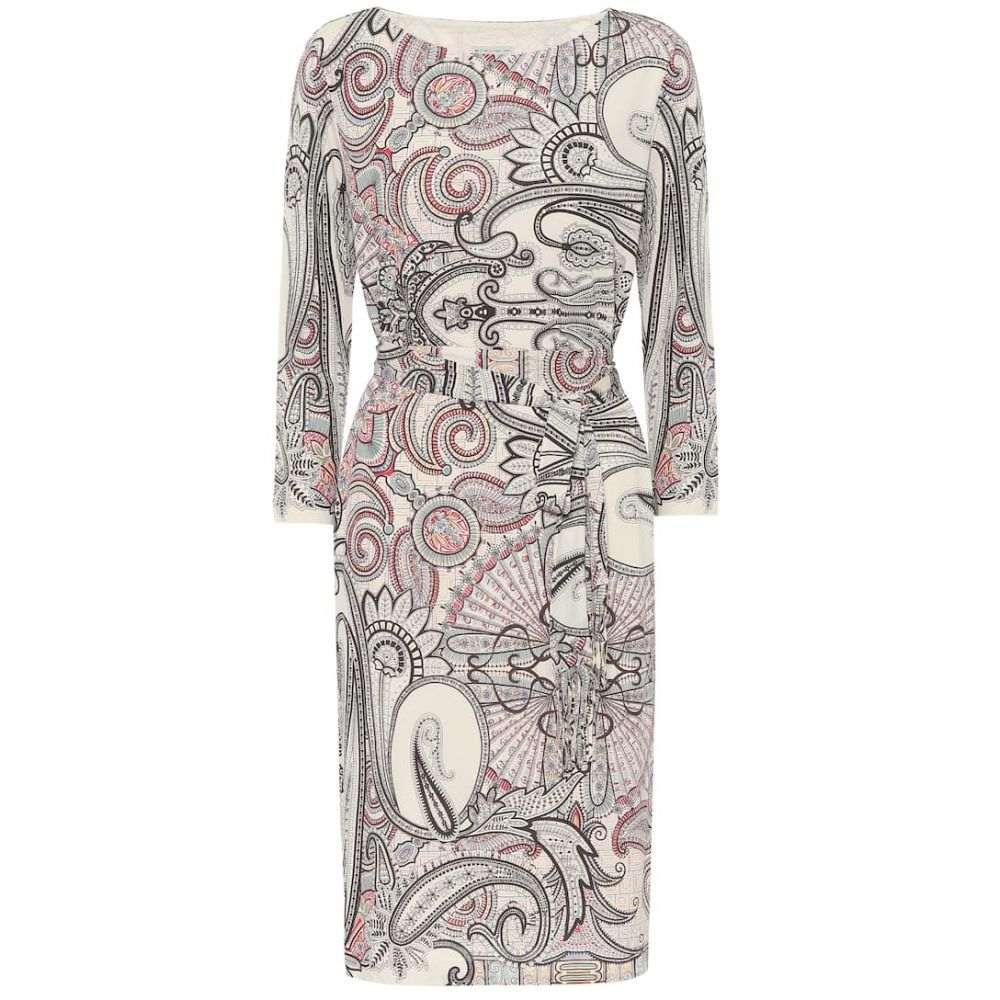 エトロ Etro レディース ワンピース ワンピース・ドレス【paisley-print crepe dress】