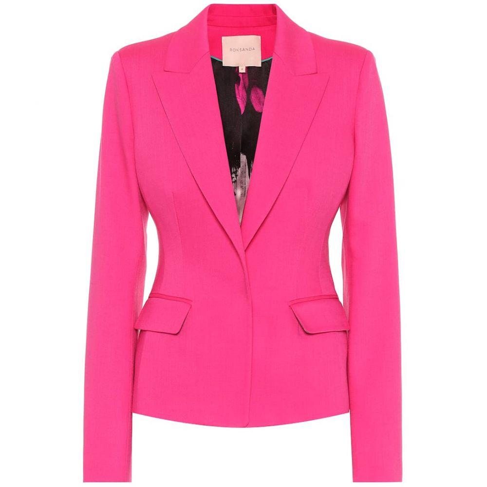 ロクサンダ Roksanda レディース スーツ・ジャケット アウター【Varona wool-blend blazer】Camelia