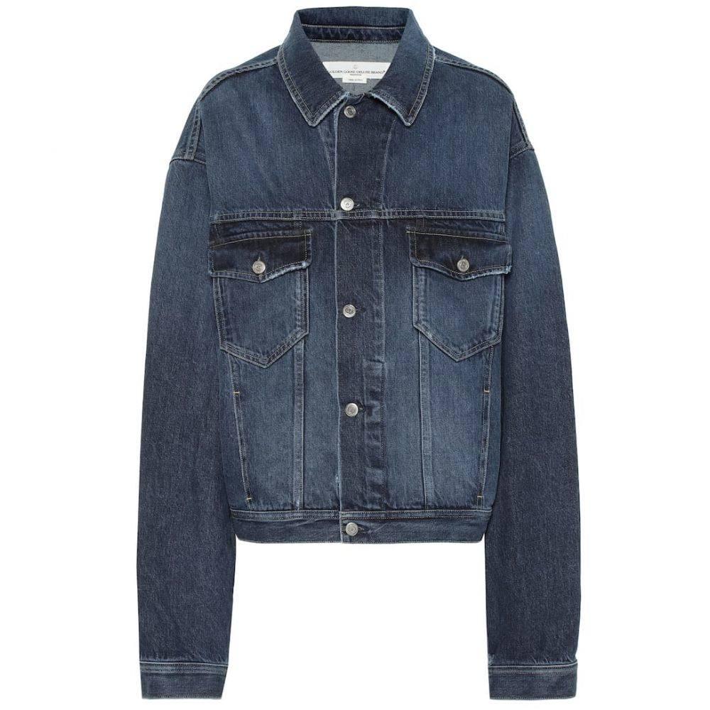 ゴールデン グース Golden Goose レディース ジャケット Gジャン アウター【Demi cotton denim jacket】Dark Blue Wash