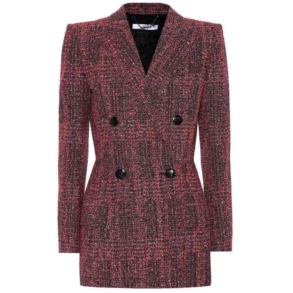ジバンシー Givenchy レディース スーツ・ジャケット アウター【Tweed blazer】Red/Black