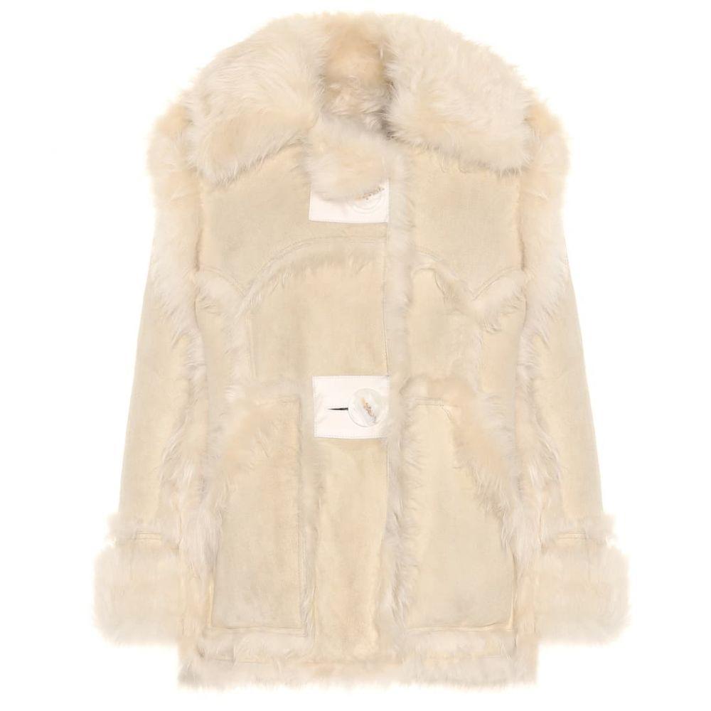アクネ ストゥディオズ Acne Studios レディース ジャケット シアリング アウター【Oversized shearling jacket】Cream/Off-white