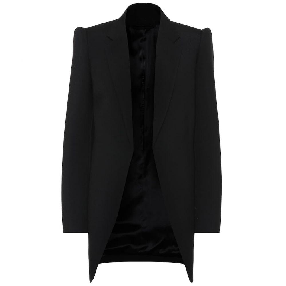 バレンシアガ Balenciaga レディース スーツ・ジャケット アウター【Virgin wool blazer】Black