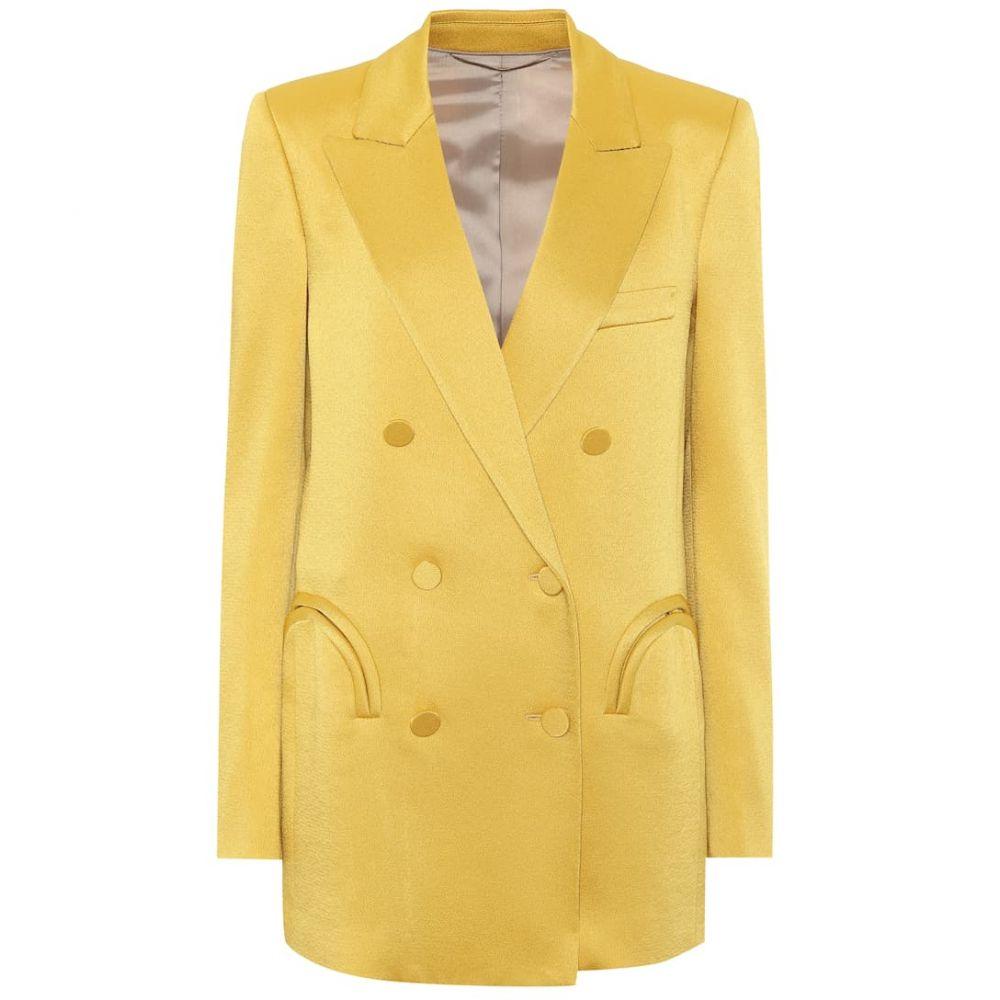 ブレイズ ミラノ Blaze Milano レディース スーツ・ジャケット アウター【Everyday satin blazer】Blonde