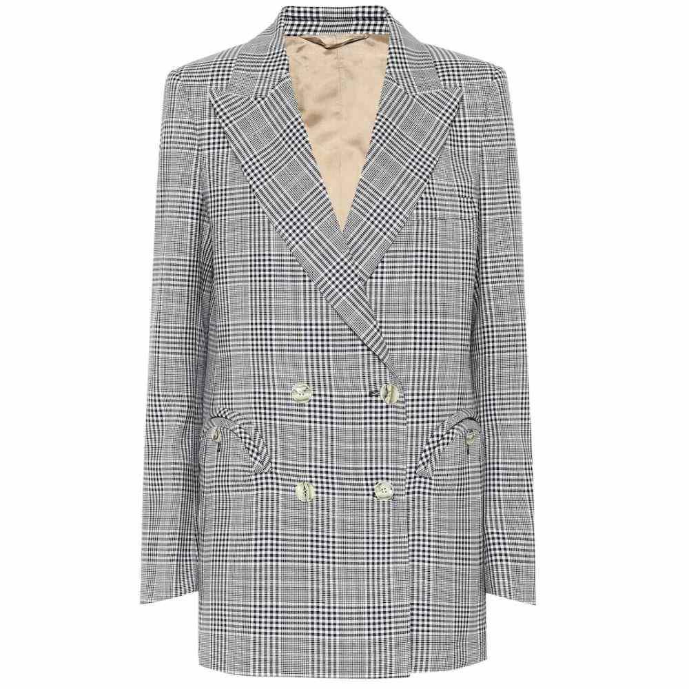 ブレイズ ミラノ Blaze Milano レディース スーツ・ジャケット アウター【Everyday checked wool blazer】Navy