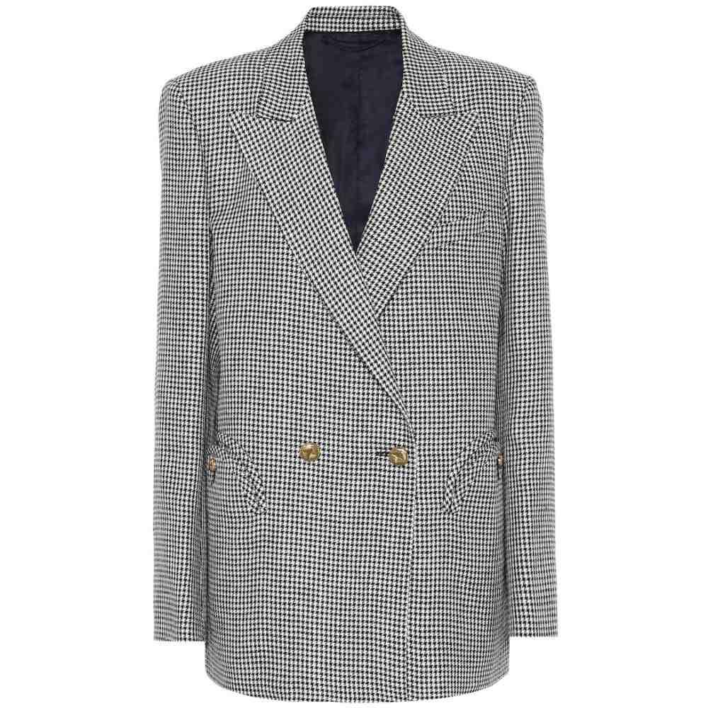 ブレイズ ミラノ Blaze Milano レディース スーツ・ジャケット アウター【Everynight checked linen blazer】Black