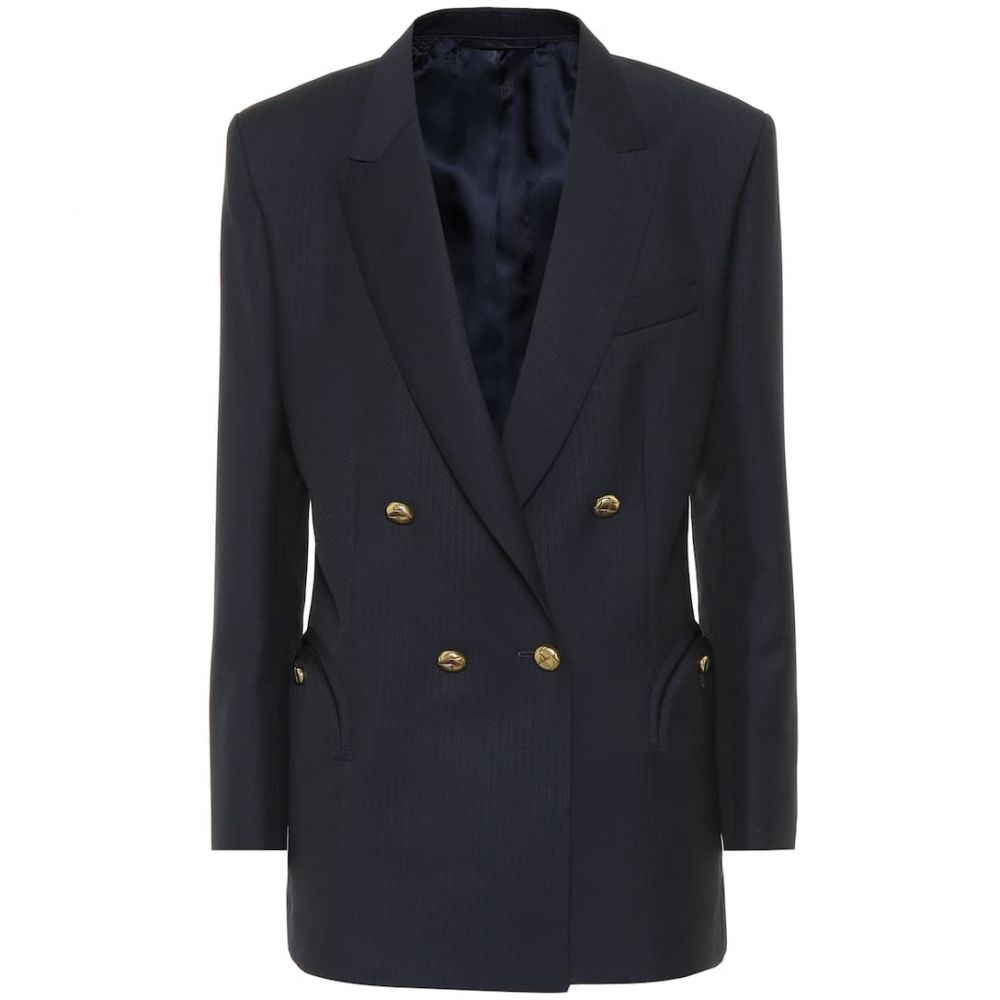 ブレイズ ミラノ Blaze Milano レディース スーツ・ジャケット アウター【Tomboy wool-blend blazer】Navy