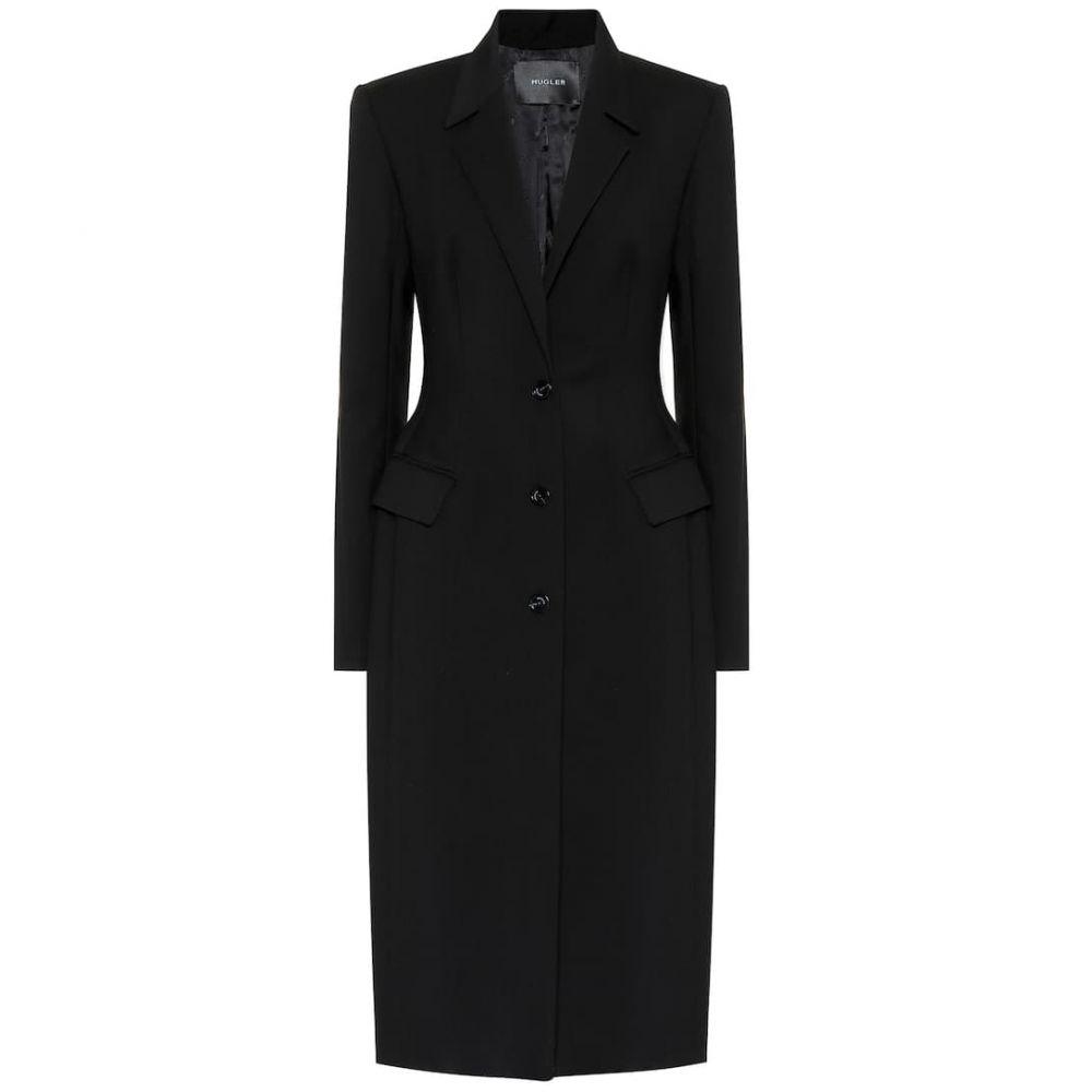 ミュグレー Mugler レディース コート アウター【Wool-blend coat】Black