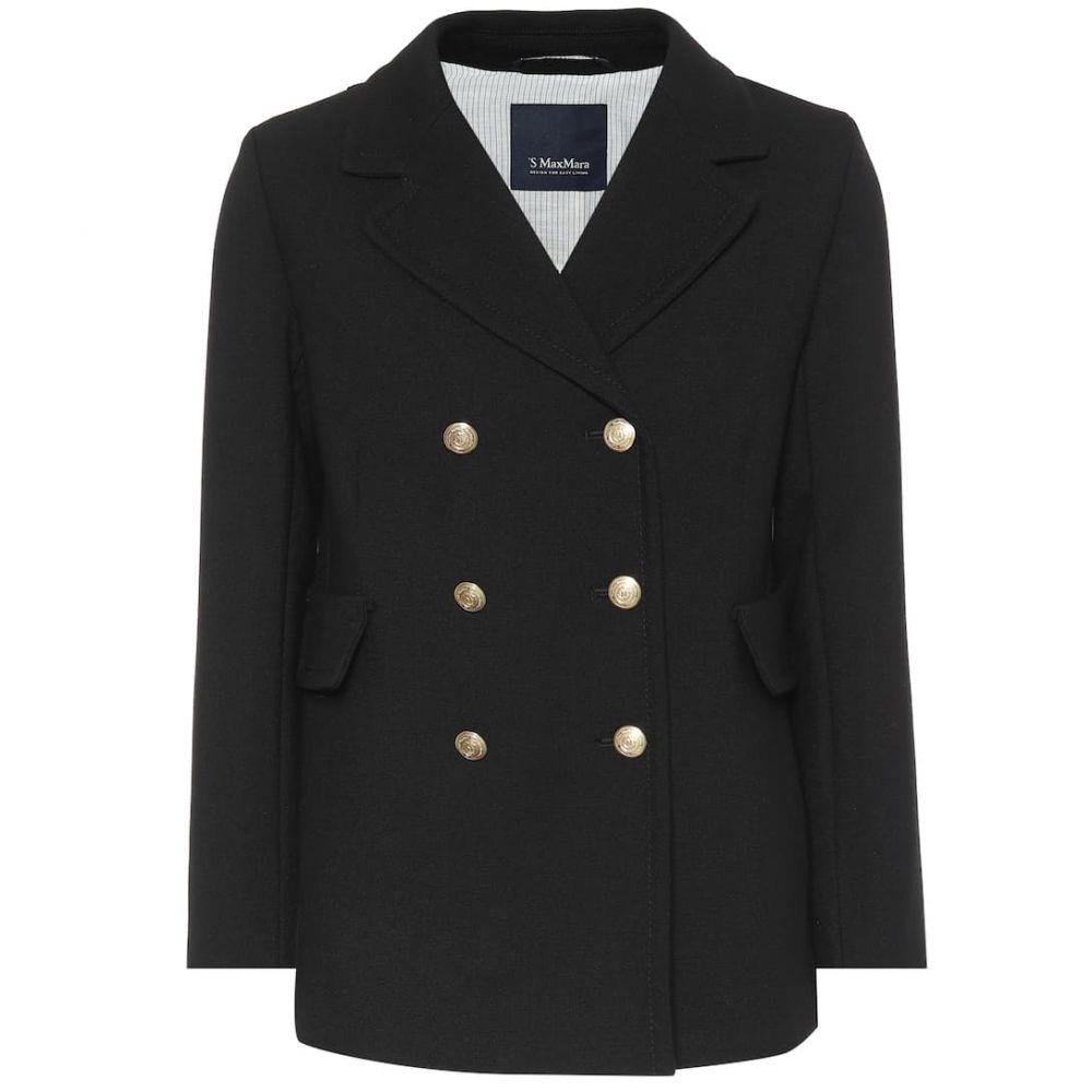 マックスマーラ S Max Mara レディース コート アウター【Rana wool-blend crepe coat】