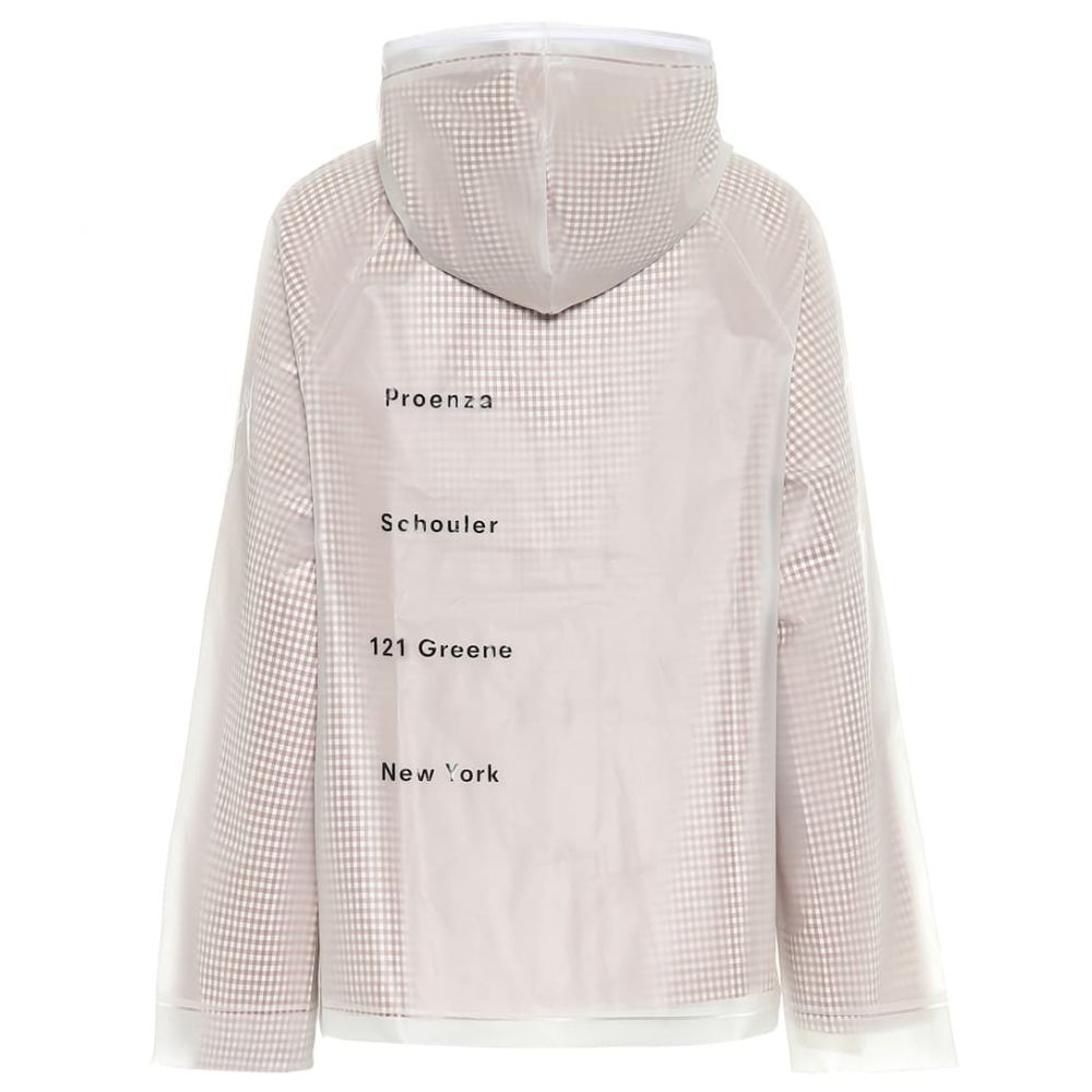プロエンザ スクーラー ホワイト レーベル Proenza Schouler White Label レディース ジャケット アウター【PVC and cotton jacket】Milky White/Brown