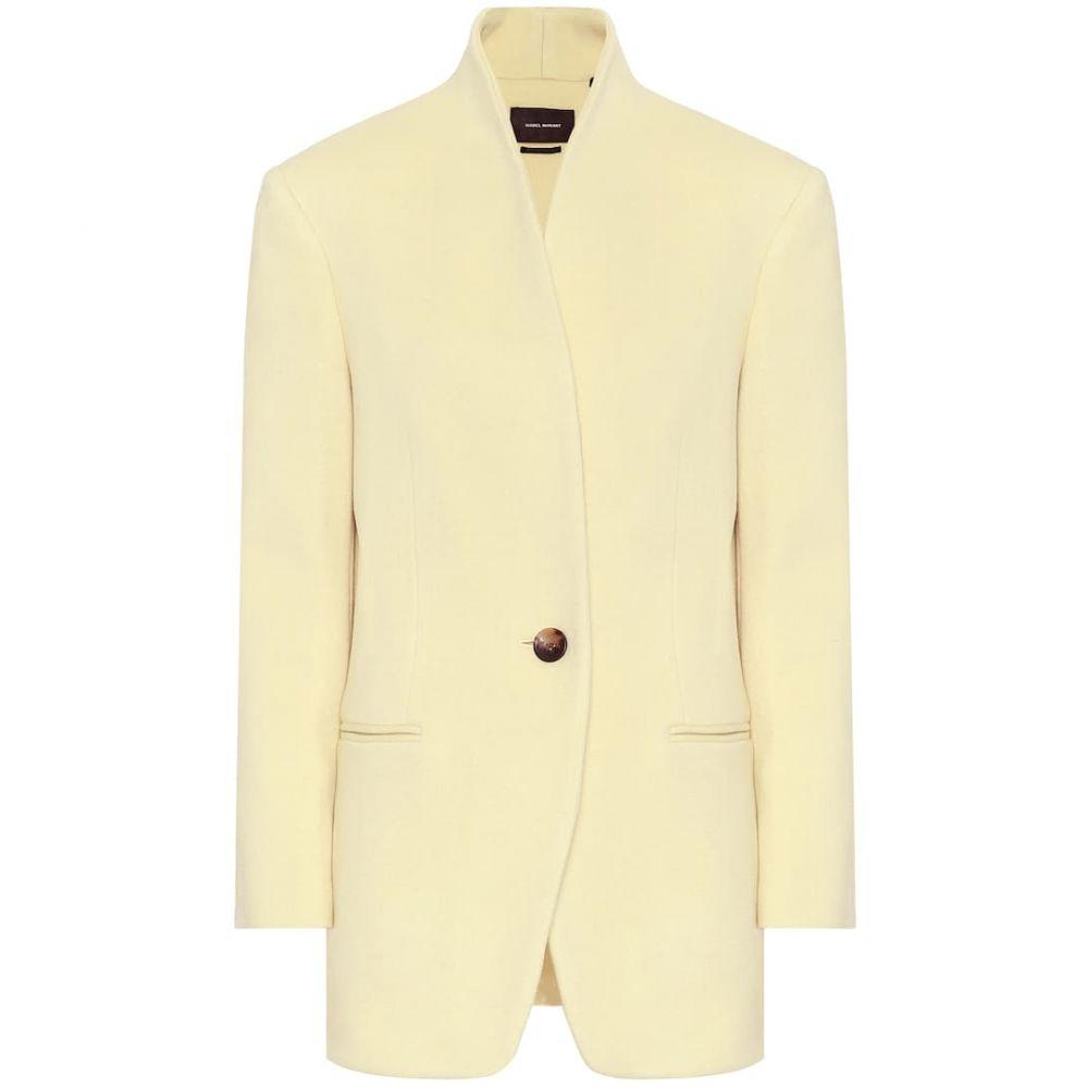 イザベル マラン Isabel Marant レディース スーツ・ジャケット アウター【Felicie wool and cashmere blazer】Light Yellow